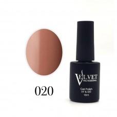 Гелевый лак Velvet 020