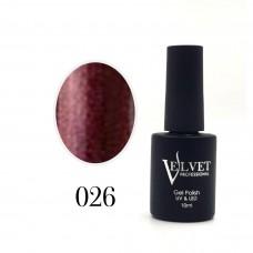Гелевый лак Velvet 026