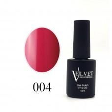 Гелевый лак Velvet 004