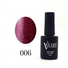 Гелевый лак Velvet 006