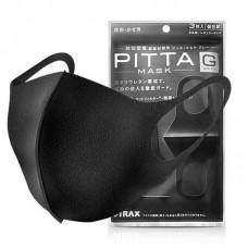 Маска Pitta черные в упаковке 3 шт