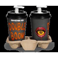 Double Boom Apricot Set